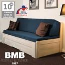 Rozkládací postel TINA TANDEM ORTHO lamino, BMB