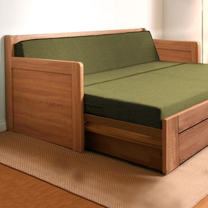 Rozkládací postel MARCY TANDEM PLUS masiv, BMB