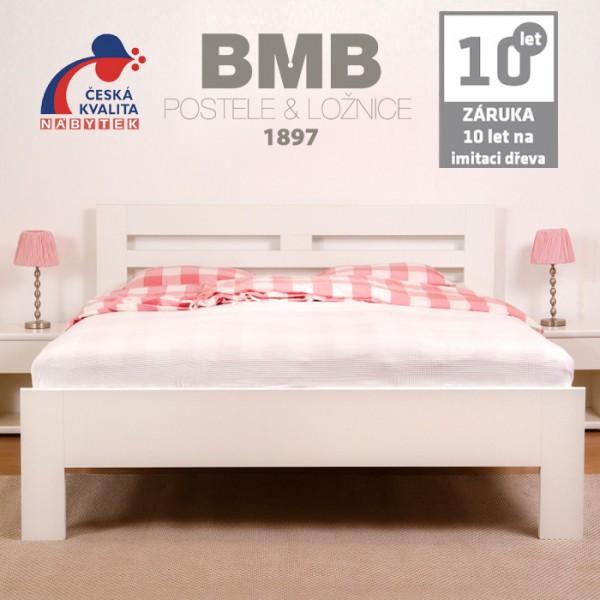 Zvýšená postel ELLA HARMONY lamino, BMB