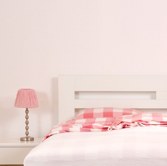 Zvýšená postel ELLA HARMONY výklop lamino - dekor bílá, rovné rohy, BMB