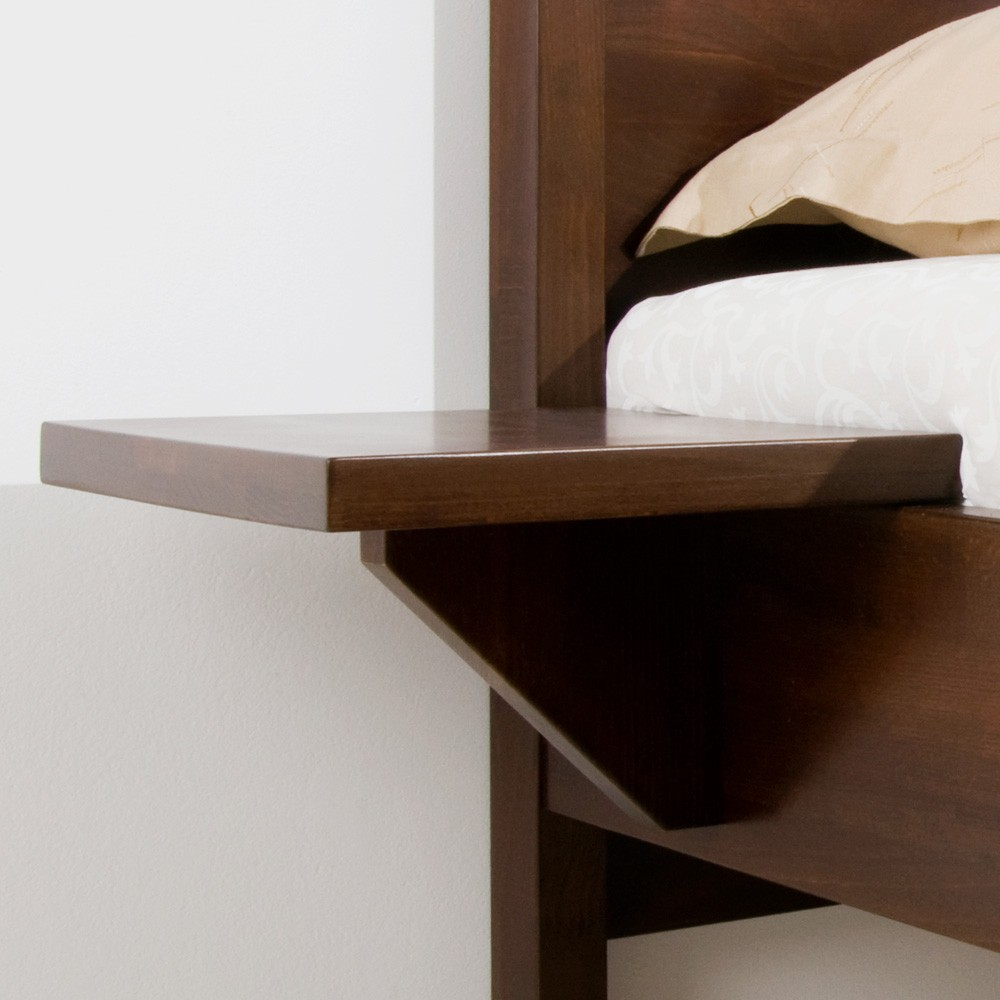 Noční stolek ZÁVĚSNÝ masiv buk, BMB