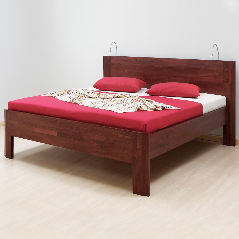 Zvýšená postel ELLA FAMILY masiv buk, BMB
