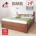 Zvýšená postel DENERYS LIVE VÝKLOP masiv buk, BMB