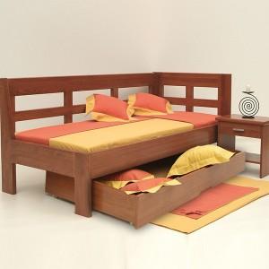 Zásuvka boční 3/4 pod postel Enozzi - standardní provedení
