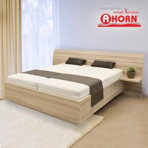 Zvýšená postel SALINA, Ahorn