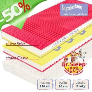 Potah matrace Relaxtic, pratelný a snímatelný