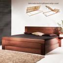 Zvýšená postel ARLETA 7 VÝKLOP, Kolacia Design