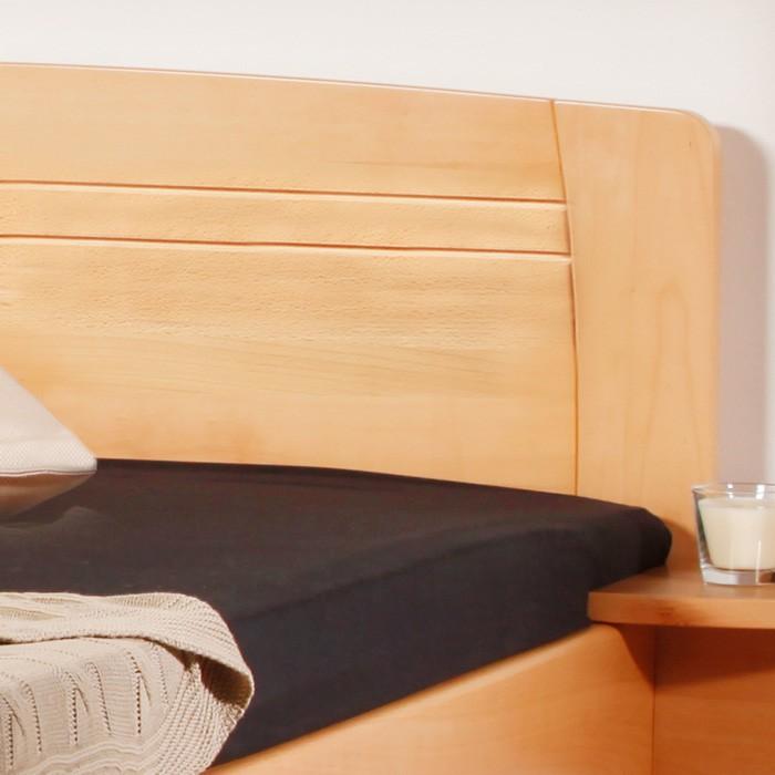 Jednolůžko Evita 4 - masiv buk průběnžný lak č. 10 přírodní, Kolacia Design