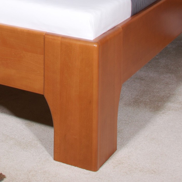 Zvýšená postele Olympia 3 - masiv buk průběžný lak č. 20 třešeň, Kolacia Design