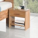 Noční stolek PETRA masiv DUB, FMP Lignum
