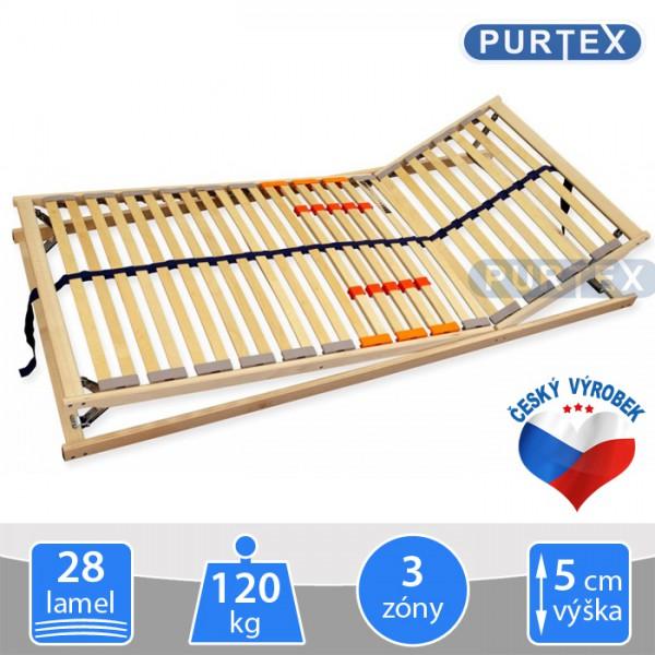 ORION HN T5 polohovací lamelový rošt, Purtex