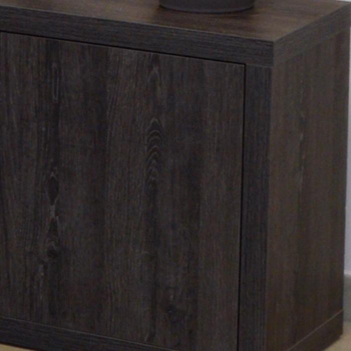 Noční stolek NS4 dvířka - dub černý, Ahorn