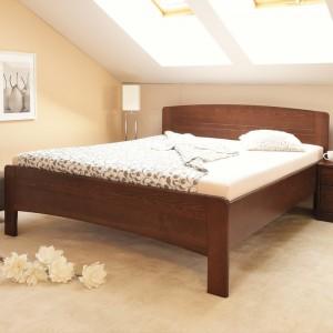 Zvýšená postel Evita 4 - masiv buk průběžný olej č. 1 přírodní