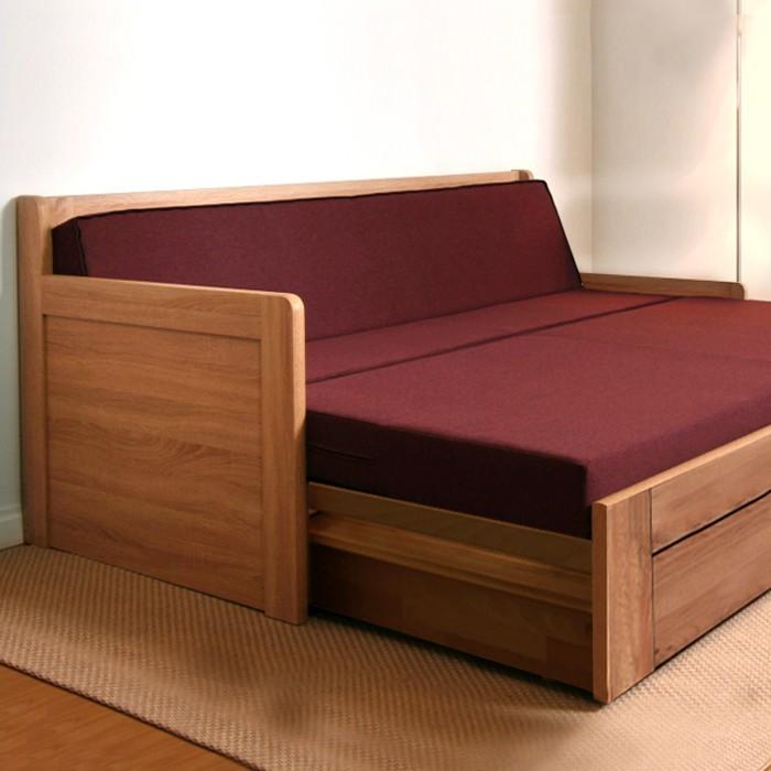 Rozkládací postel SOFA TANDEM ORTHO rohová lamino, BMB