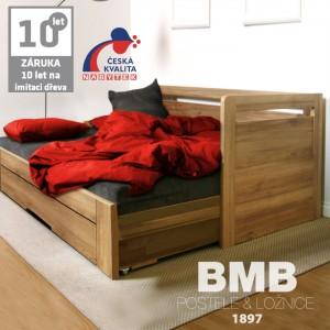 Rozkládací postel ESTER TANDEM ORTHO lamino, BMB