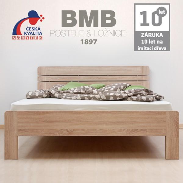 Zvýšená postel ELLA LUX lamino, BMB