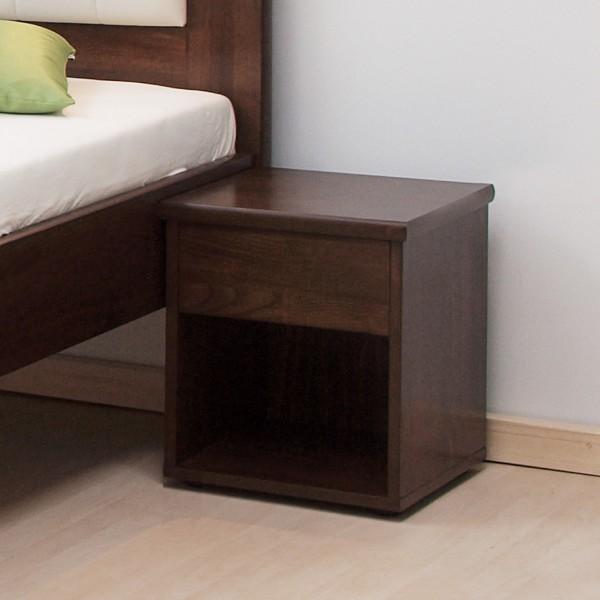 Noční stolek ÚZKÝ masiv buk, BMB