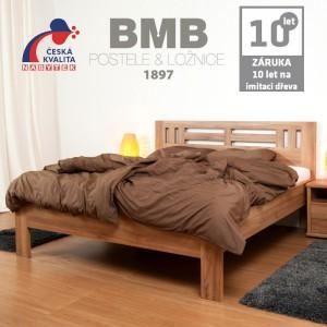 Zvýšená postel ELLA MOON lamino, BMB