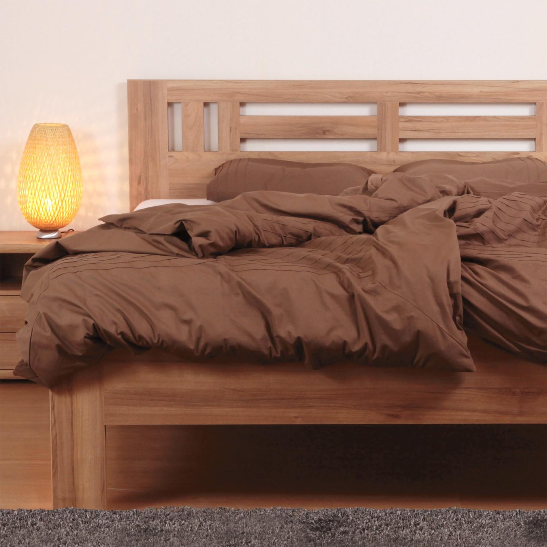Zvýšená postel ELLA MOON lamino - rovné rohy, BMB