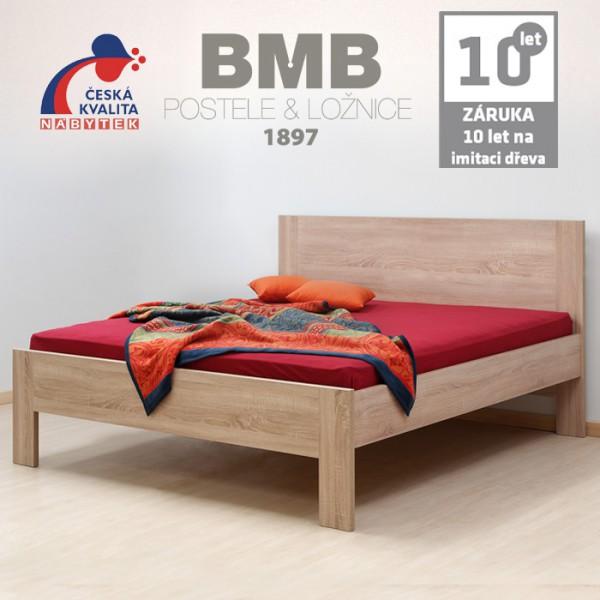 Zvýšená postel ELLA FAMILY lamino, BMB