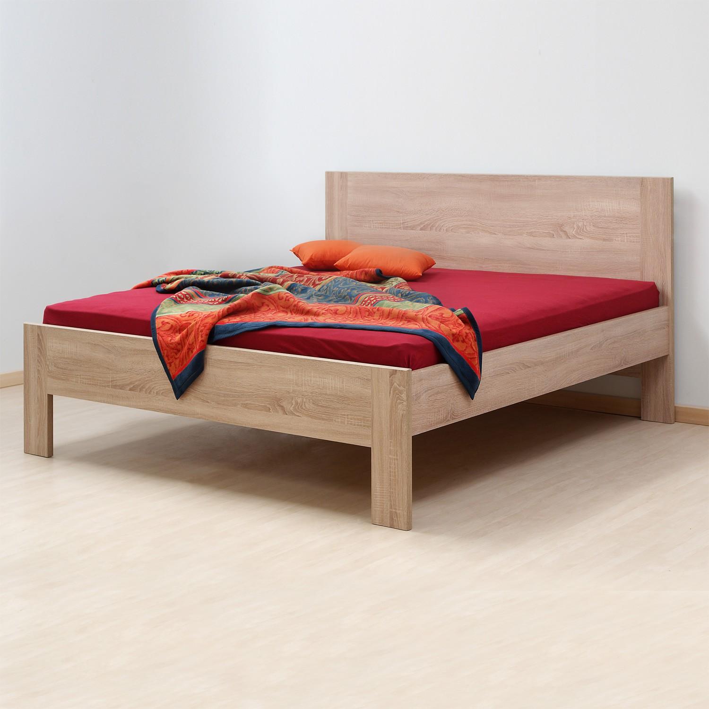 Zvýšená postel ELLA FAMILY lamino Dub Bardolíno, BMB