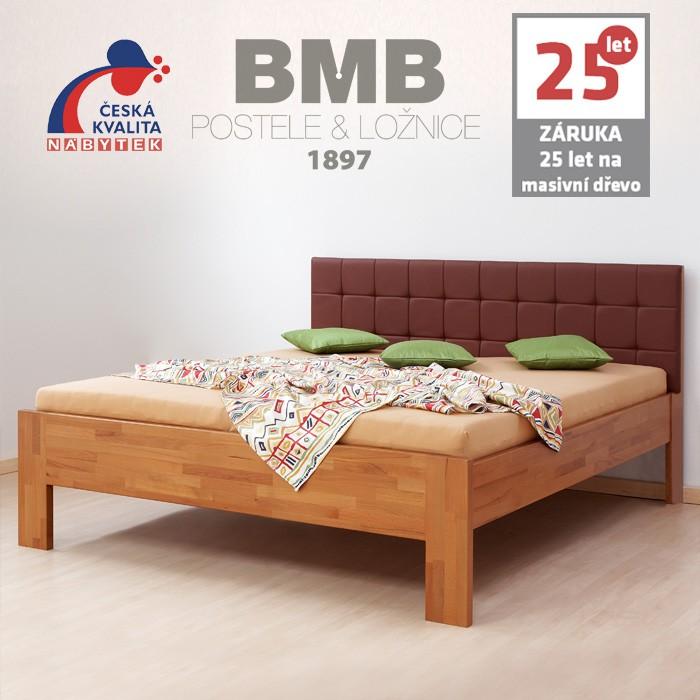 Zvýšená postel DENERYS PARADISE masiv buk, BMB