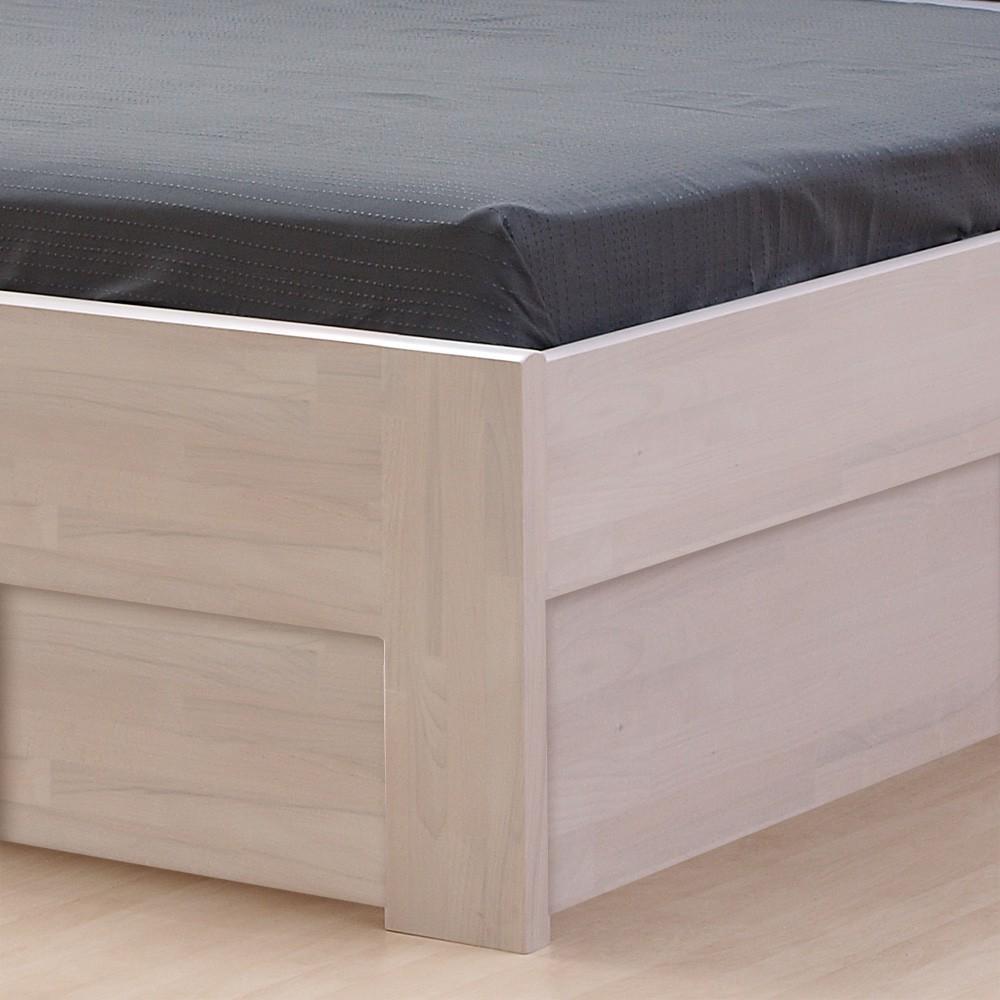 Zvýšená postel DENERYS PARADISE VÝKLOP masiv buk, BMB
