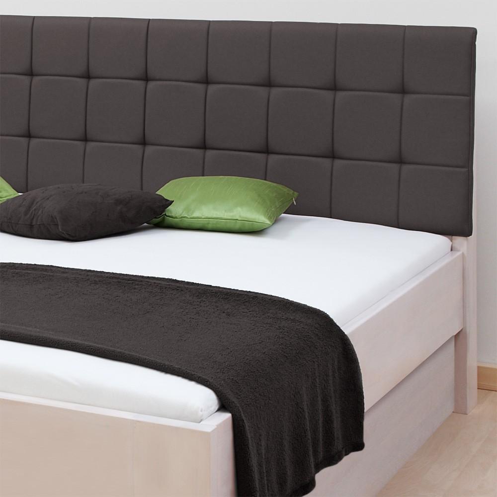 Zvýšená postel DENERYS PARADISE VÝKLOP lamino - dekor bílé, rovné rohy, BMB