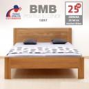 Zvýšená postel ELLA FAMILY masiv dub, BMB