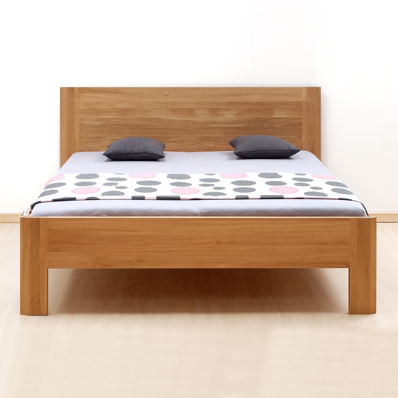 Zvýšená postel ELLA FAMILY masiv dub - provedení dub průběžný natur, BMB
