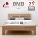 Zvýšená postel ELLA MOON masiv dub, BMB