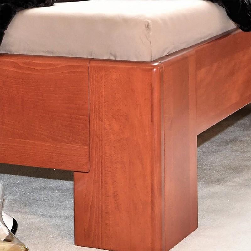 Postel HOLLYWOOD 1 - masiv buk průběžný odstín č. 50 Calvádos LAK, Kolacia Design