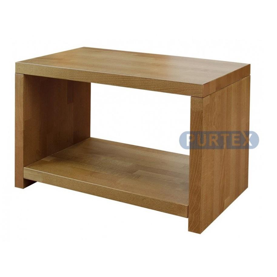 Noční stolek GRAND buk / dub, Purtex