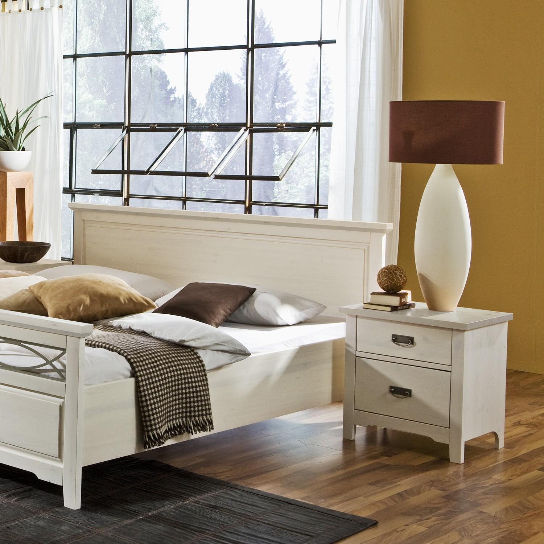 Noční stolek COUNTRY INN - masiv borovice bílá, Jitona