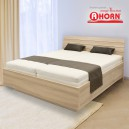 Zvýšená postel SALINA BASIC lamino, Ahorn