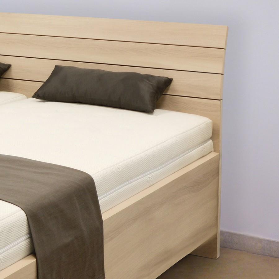 Zvýšená postel SALINA BASIC VÝKLOP, Ahorn