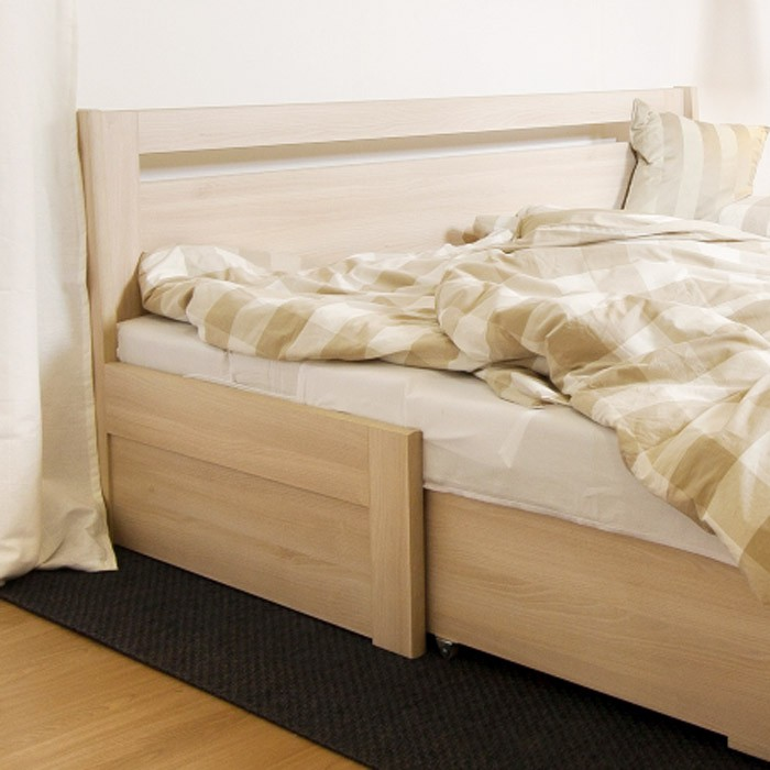 AKCE rozkládací postel TINA TANDEM KLASIK lamino dekor Akát
