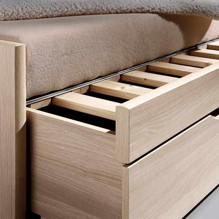 AKCE rozkládací postel ESTER TANDEM KLASIK lamino s matracemi BONNIE 18