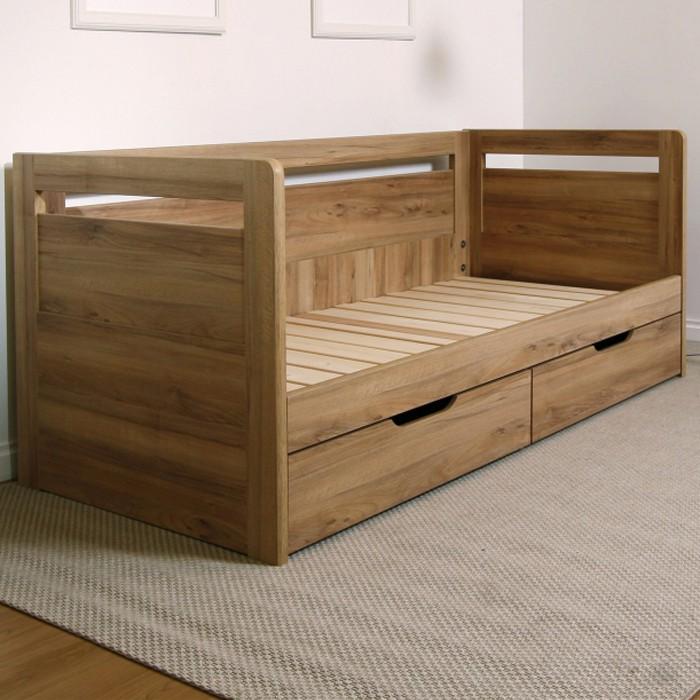 AKCE rozkládací postel SÁRA TANDEM KLASIK lamino s matracemi ANTIBACTERIAL VISCO VAKUO 18