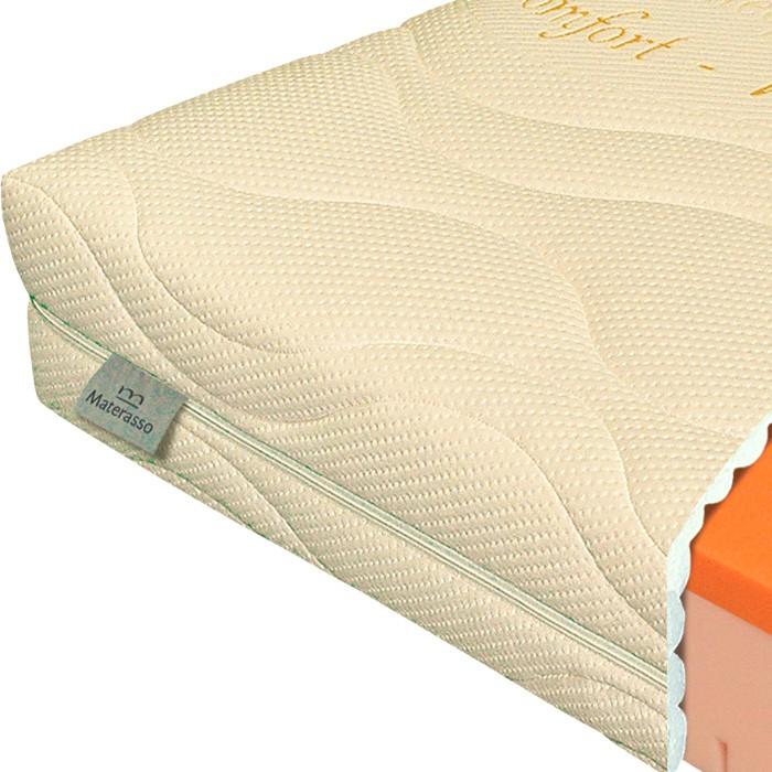 Matrace Viscostar 20 - rozkládací set s opěrkou v matracovém potahu Bamboo
