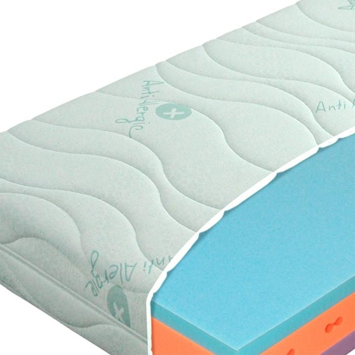 Matrace Ergoflex 18 - Materasso, set s opěrkou pro rozkládací postel