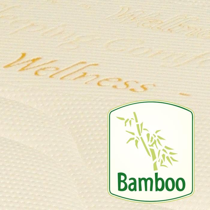 Oboustranné matrace Viscostar - detail potahové látky Bamboo