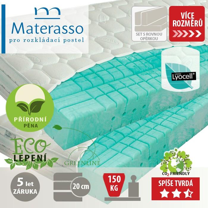 Matrace BIOGREEN T4 k rozkládací posteli, Materasso