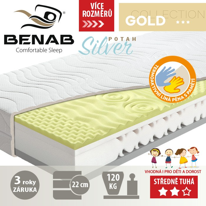 Matrace GOLDEN VISCO, Benab