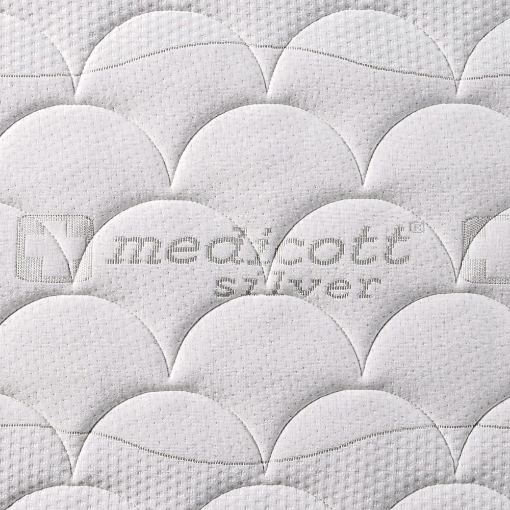 Matrace LATEXO S1000 - potah Medicott Silver 3D, Benab