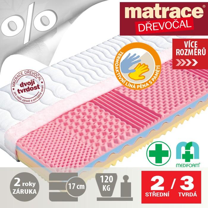 Matrace SOFIA, Dřevočal