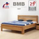 Zvýšená postel ADRIANA KLASIK masiv dub, BMB