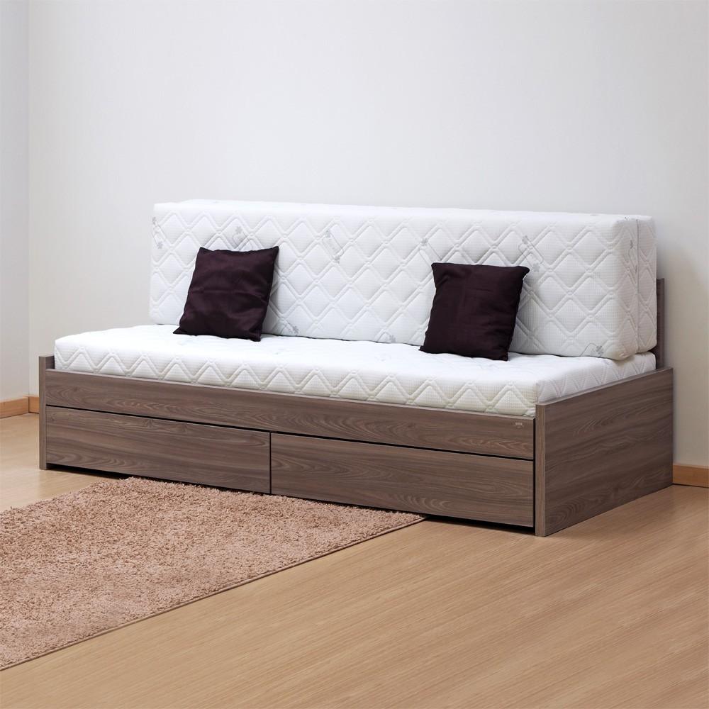 Rozkládací postel JORA TANDEM KLASIK bez područek lamino, BMB
