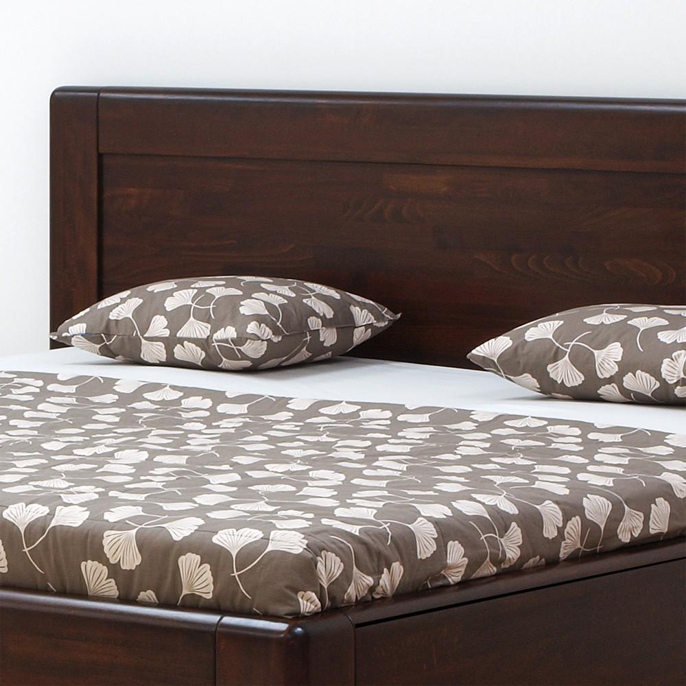 Zvýšená postel ADRIANA FAMILY VÝKLOP masiv buk, BMB