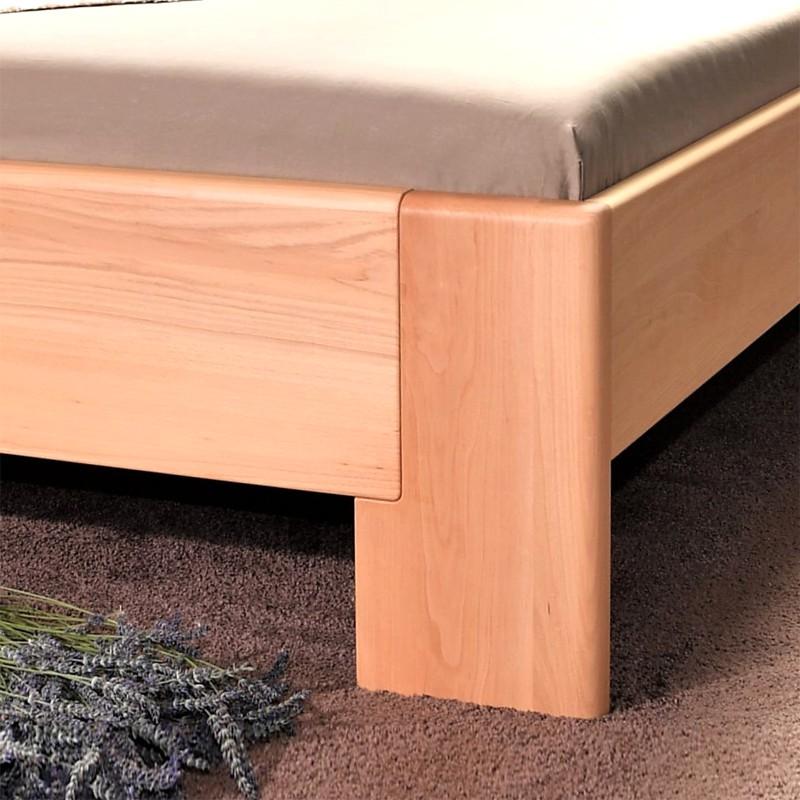 Zvýšená postel DELUXE 1 - masiv buk průběžný přírodní olej 1, Kolacia Design